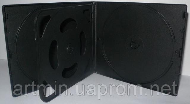 VCD box для 2 CD, 10 мм, матовый черный, упаковка 10 шт, от 5 упаковок - «Артмин» - интернет-магазин рекламы и сувениров  в Днепре