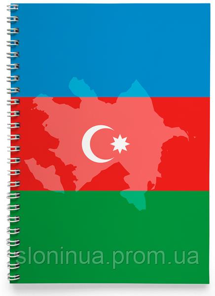 Блокнот Зошит Азербайджан