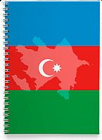 Блокнот Тетрадь Азербайджан