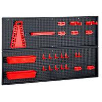 Органайзер Перфорированная панель для инструмента с крючками ящик