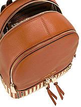 Рюкзак Michael Kors Rhea Studded Steel Brown, фото 2