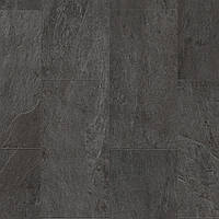 Quick-Step AMCL40035 Сланец черный, виниловый пол Livyn Ambient Click
