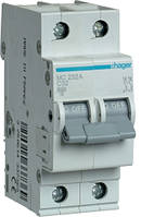 Автоматический выключатель 2P 6kA C-32A 2M Hager MC232A
