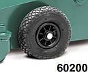 Домкрат подкатной автомобильный с увеличенной высотой подъема, Compac 8T-HC, фото 5