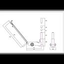 Домкрат пневмогидравлический 30т, BAHCO, BH230, фото 3