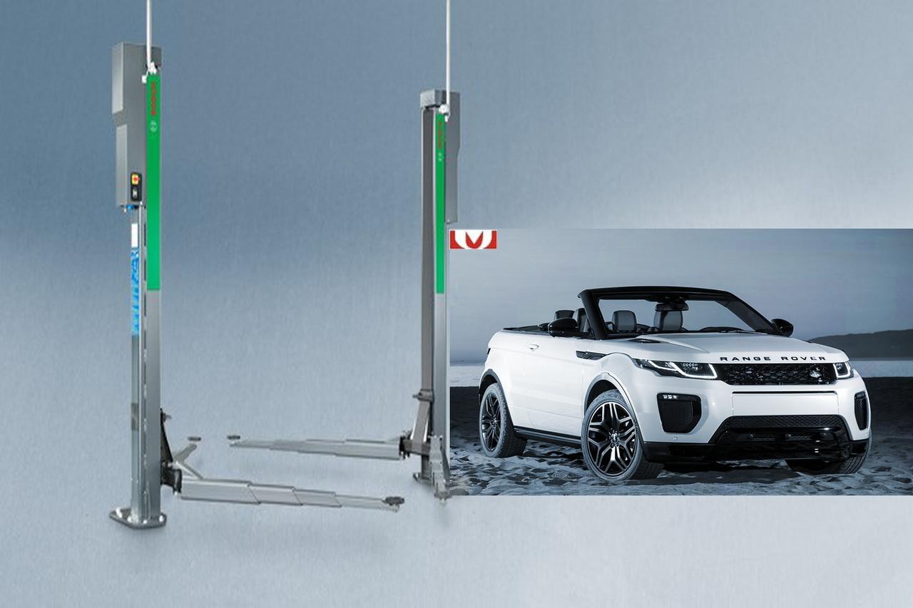 Підйомник автомобільний, електромеханічний, 4т, Bosch, VLE 2140 EL
