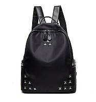 Классический черный рюкзак с крестиками Star