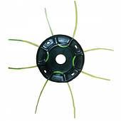Диск-паук с леской для мотокосы