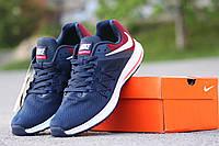Женские кроссовки Nike Zoom Winflo 3, сетка, синие с красным / кроссовки женские Найк Зум Винфло 3, стильные