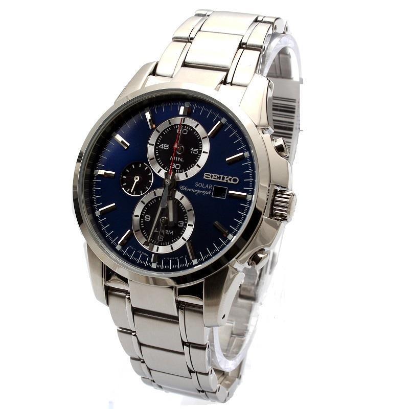 Часы Seiko SSC085P1 хронограф SOLAR
