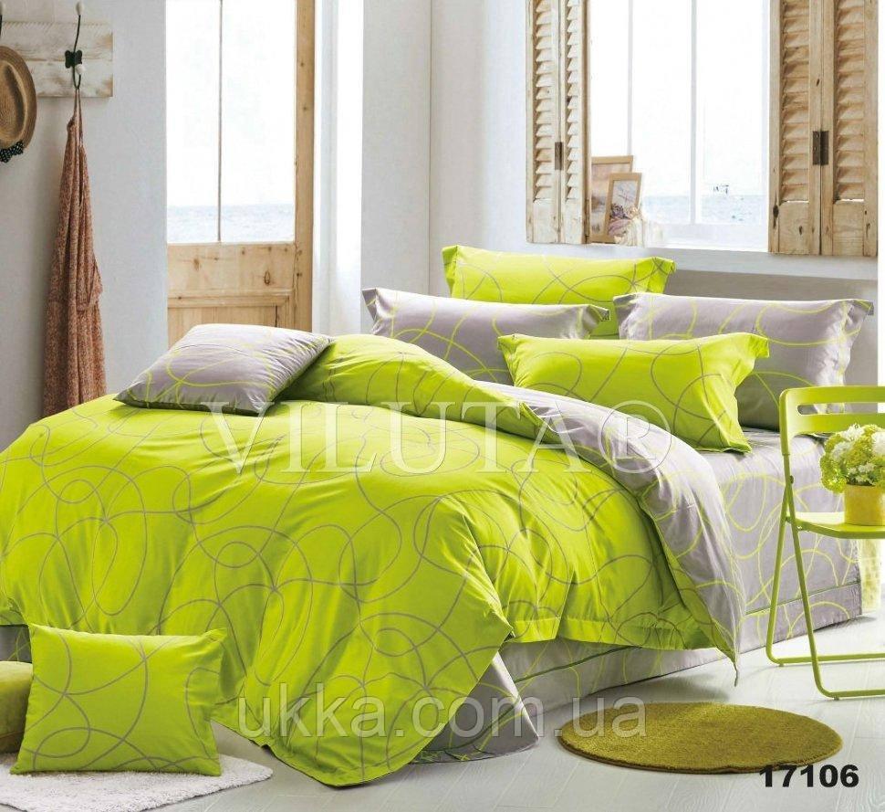 Двуспальное постельное белье Вилюта 17106