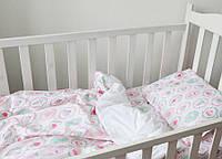 """Комплект для детской кроватки """"Пирожные"""" крупные"""