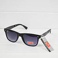 Очки женские от солнца Ray Ban wayfarer Black 1, магазин очков