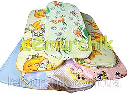 """Матрасик в детскую коляску ортопедический кокосовый 80х35 см """"вкладыш"""""""