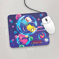 Коврик для мыши 234x194  Adventure time, №3