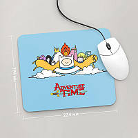 Коврик для мыши 234x194  Adventure time, №4