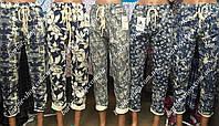 Модные женские летние брюки из котонна 2204
