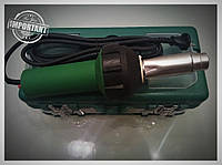 Фен для сварки пайки бамперов и пластика с насадками HERZ в кейсе  Н&B-1600 A  гарантия 3 года .