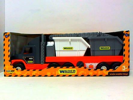 Машина эвакуатор с контейнерами Super Tech Truck Wader 36760, фото 2