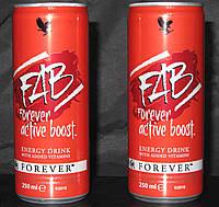 Энергетический Напиток с  Витаминами Форевер, США, Forever FAB, 250 мл