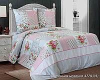 Постельное белье Белорусская бязь Цветочная мозаика