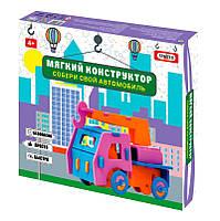Конструктор Автомобиль-кран детский