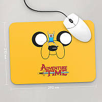 Коврик для мыши 290x210  Adventure time, №1