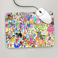 Коврик для мыши 290x210  Adventure time, №2