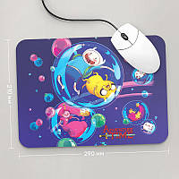 Коврик для мыши 290x210  Adventure time, №3