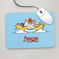 Коврик для мыши 290x210  Adventure time, №4