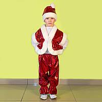 """Костюм новогодний """"Санта"""" цвет:красный"""