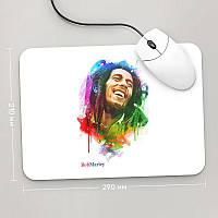 Коврик для мыши 290x210 Bob Marley, №1