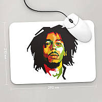 Коврик для мыши 290x210 Bob Marley, №5
