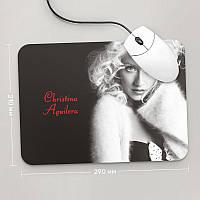 Коврик для мыши 290x210 Christina Aguilera
