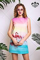Молодежное женское платье Джойс Luzana 42-50 размеры