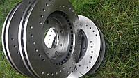 Задний тормозной диск с перфорацией BMW 7