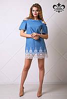 Стильное женское платье Ждана Luzana 42-50 размеры