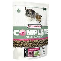 Versele-Laga Complete ШИНШИЛЛА ДЕГУ (Chinchilla&Degu) гранулированный корм для шиншилл и дегу, 0,5кг