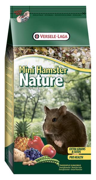 Versele-Laga Nature МИНИ ХАМСТЕР НАТЮР (Mini Hamster Nature) зерновая смесь супер премиум корм для