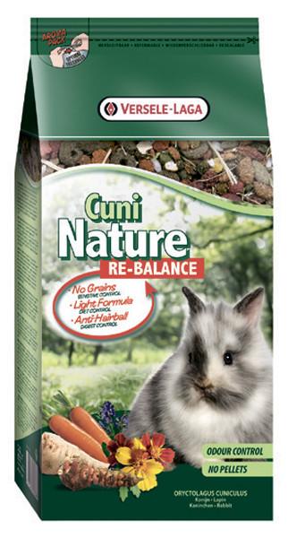 Versele-Laga Nature КУНИ НАТЮР РЕ-БАЛАНС (Cuni Nature ReBalance) смесь-мюсли облегченный корм для кроликов,