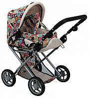 Детская коляска 2 в 1 с люлькой «Mary», цветная арт. 9346C