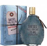 Diesel Fuel For Life Denim Collection Homme туалетная вода 75 ml. (Дизель Фуел Фор Лайф Деним Колекшн Хом), фото 1