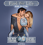 Diesel Fuel For Life Denim Collection Homme туалетна вода 75 ml. (Дизель Фуел Фор Лайф Денім Колекшн Хом), фото 5