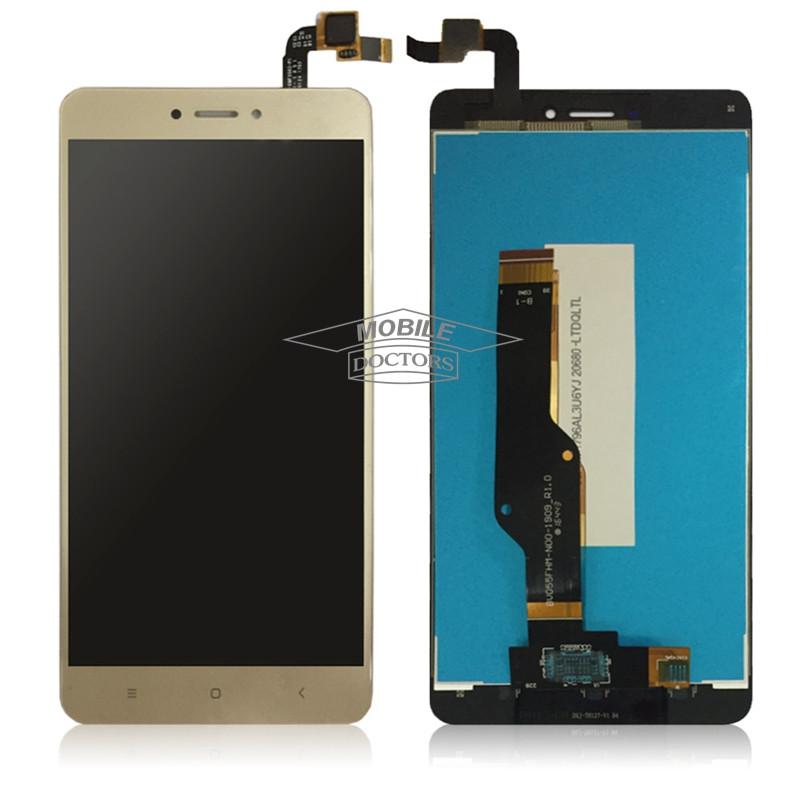 Дисплейный модуль для мобильного телефона  Xiaomi Redmi Note 4X золото