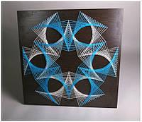 """Панно """"Геометрия"""" техника стринг-арт, фото 1"""