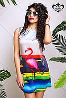 Яркое летнее платье Хлоя Luzana 42-50 размеры