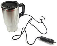 Термокружка ELECTRIC MUG. Автомобильная кружка с подогревом Electric Mug. Кружка с подогревом. Код: КДН1754