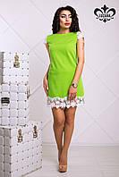Зеленое женское платье Лейла Luzana 42-50 размеры