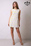 Белое женское платье Микаэль Luzana 42-50 размеры