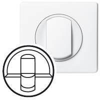 Celiane Legrand лицевая  панель розетки 2xRJ45 кат.6 (для UTP/FTP/SFTP), белый, 068252